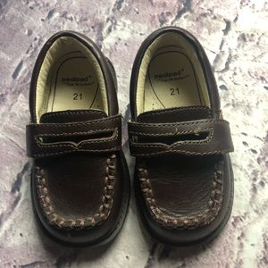 "Pediped brown loafers 18-24M ""Charlie"" originals"